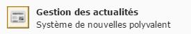Icône Actualités