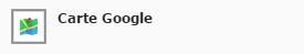 Icône Carte Google